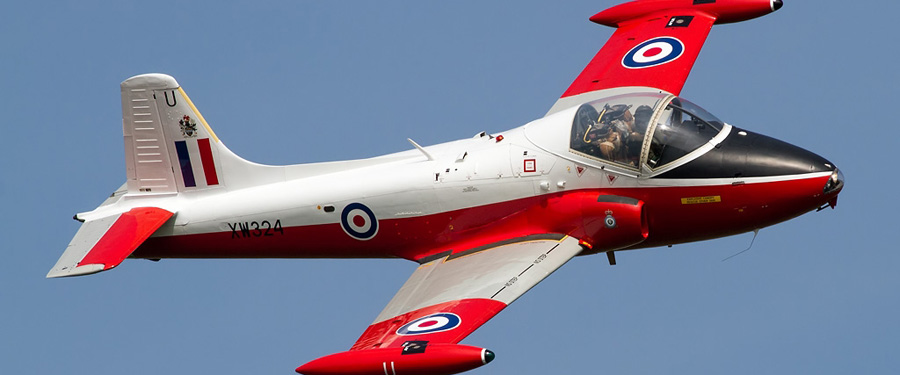 2015 Flying Display: BAC Jet Provost T.Mk.5