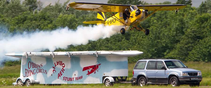 2015 Flying Display: O'Brien's Flying Circus